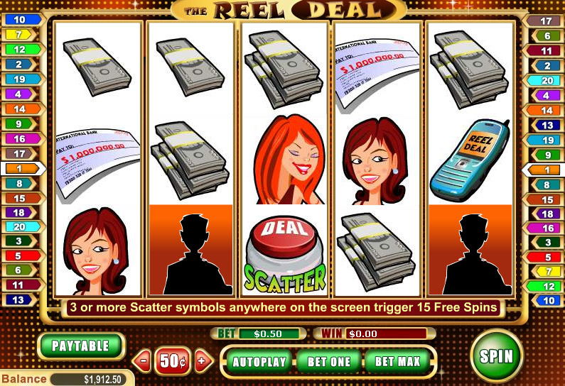 Play Reel Deal Slots at VIP Slots Casino